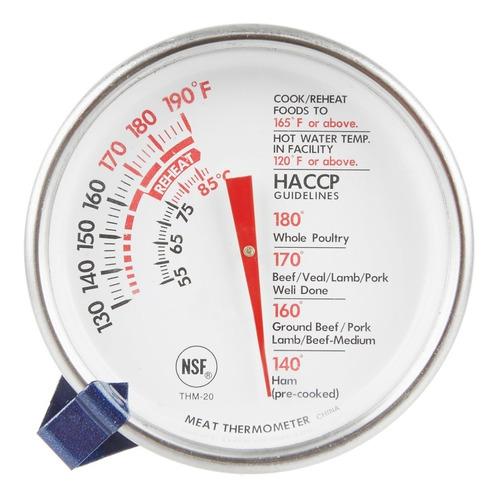termómetro parrilleras  carne, pollo, pescado, cocina nsf