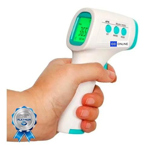 termometro pistola láser digital infrarrojo anmat  cc-online