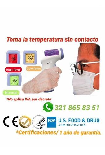 termómetro sin contacto (para entrega 15 de mayo )