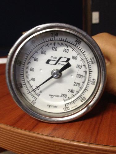 termometros con y sin certificado de calibracion