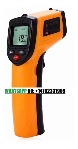 termómetros infrarrojos digital sin contacto portátil