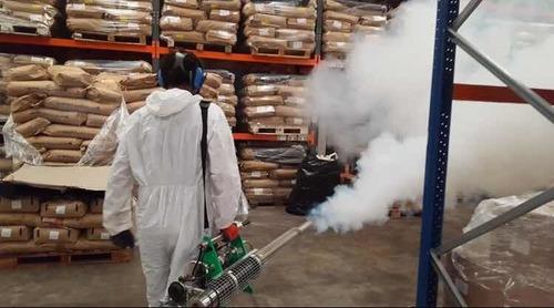 termonebulizacion para la desinfección industrial