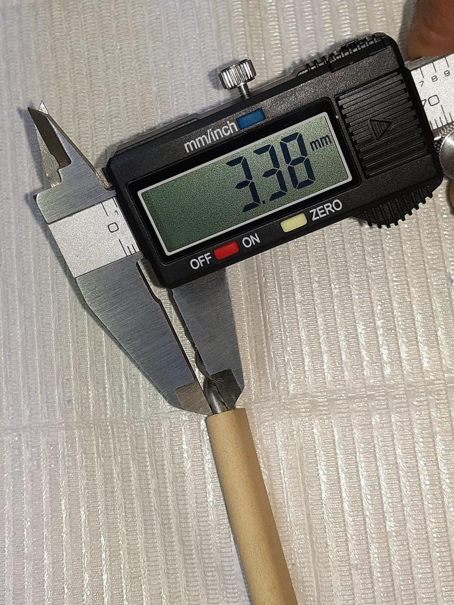 1.200 ° C Tc-2 termopar tipo K..