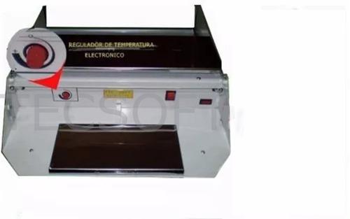 termoselladora film envasadora, empaquetadora con regulador