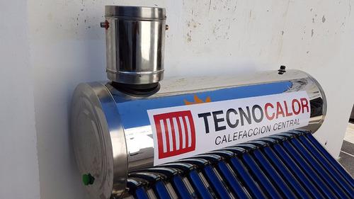 termosolar tecnocalor 300 lts. acero inox. el mejor precio!
