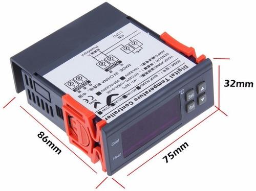 termostato 12v  para trailer o caja fria  envío gratis