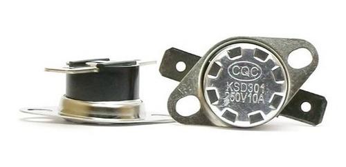 termostato 45ºc 45 graus 10a ksd301 normalmente aberto no