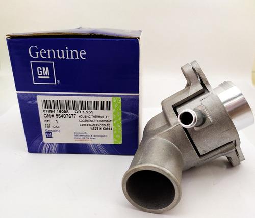 termostato aluminio valvula completo aveo gm
