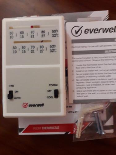 termostato ambiental aire acondicionado central