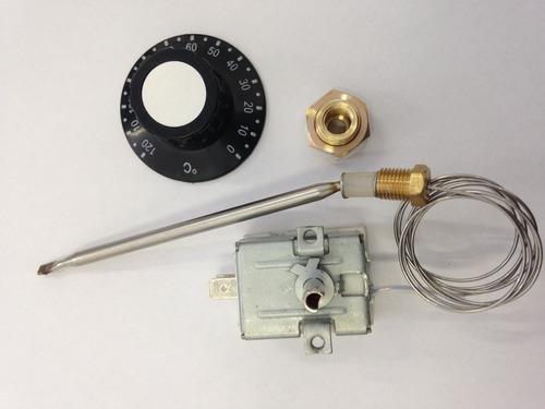 termostato analógico 20 a 120º com bucha cafeteira. 30amper