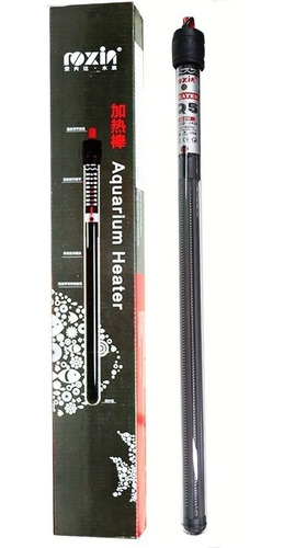 termostato com aquecedor roxin q5 300w agua doce e salgada