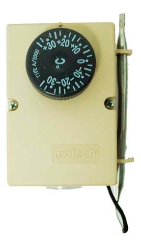 termostato comercial ambiente -35+35 220v 16a modelo a-2000