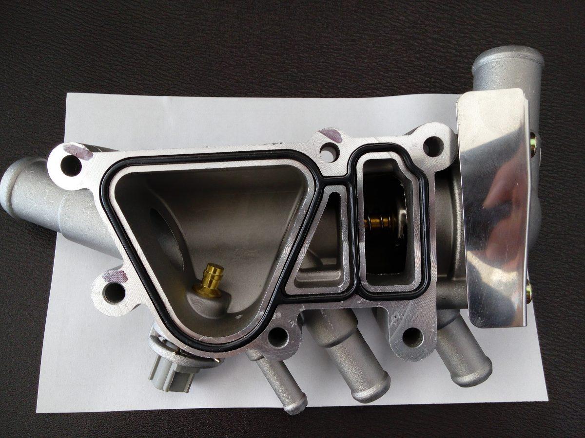 Termostato con toma de agua aluminio fiesta ford ka ikon for Termostato agua