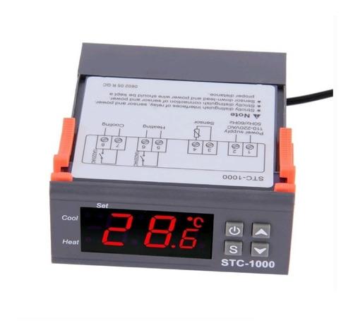 termostato control temperatura digital 110v/220v stc-1000