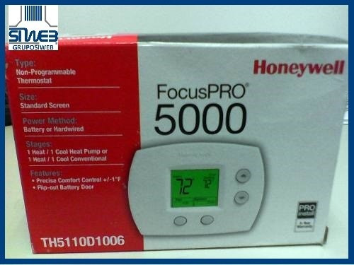 termostato de ambiente a/a honeywell pro 5000