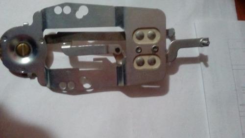 termostato de plancha negrita tradicional