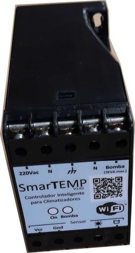 termostato digital climatización piscinas wifi smartemp