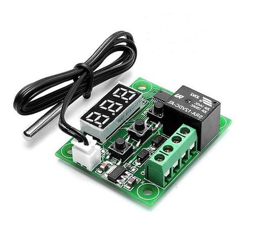 termostato digital control temperatura w1209