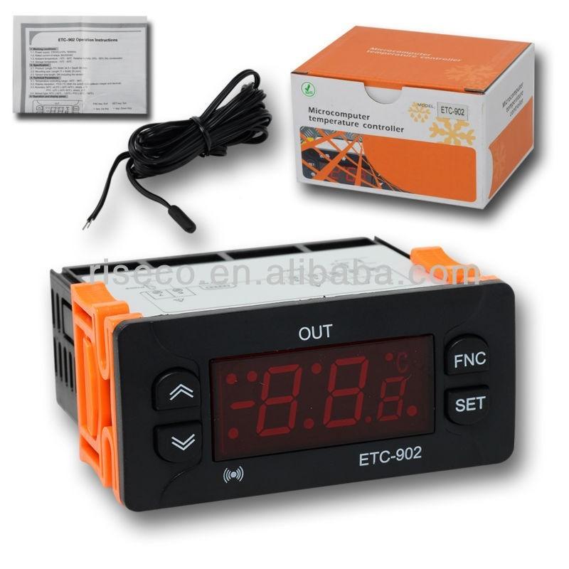 Termostato digital controlador para frio calor - Termostato frio calor ...