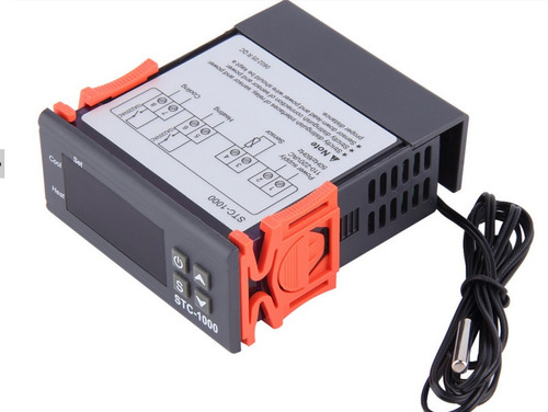 termostato digital controlador temperatura stc-1000 c/ relé