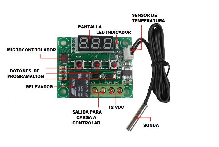 Termostato digital programable en mercado libre for Termostato digital calefaccion programable
