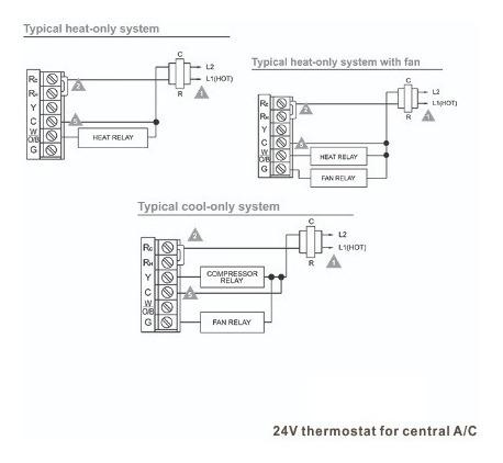 termostato digital programable frio calor display xl envios