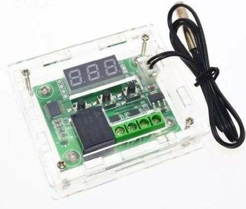 termostato digital - w1209 + case de acrílico