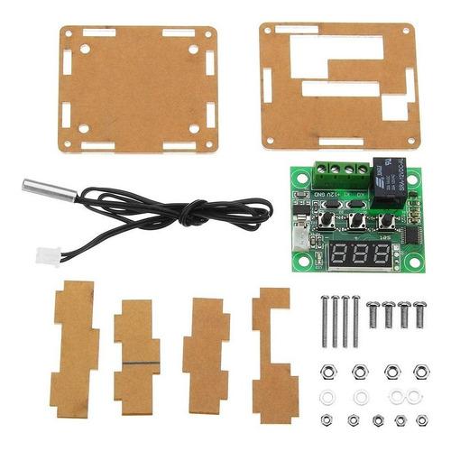 termostato digital w1209 mas gabinete acrilico  -50 a 110°c