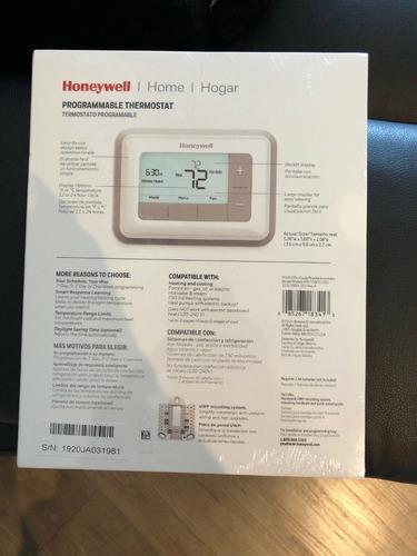 termostato honeywell rth7560e  programable 2 etapas