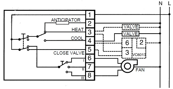 1771 Iad Wiring Diagram furthermore Mira Sport Thermostatic 9 8 Kw besides Plymouth Duster Wiring With Ac together with Zone Valve Wiring additionally Fcu Thermostat Wiring Diagram. on lux digital thermostat