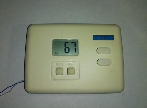 termostato para aire/a digital miller, 24v no programable.