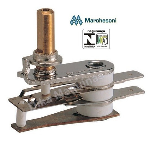 termostato para estufa vitrine salgado 110v 220v marchesoni