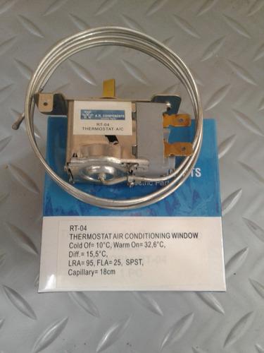 termostato rt-04 a/a ventana de 12 mil a 18 mil btu