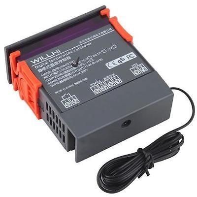 Termostato sensor digital lcd control de temperatura 220v - Termostato digital precio ...
