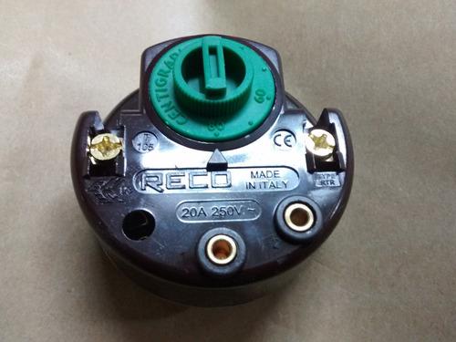 termostato termotanque electrico reco italiano