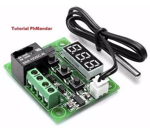 termostato w1209 incubadora cava calentador carro