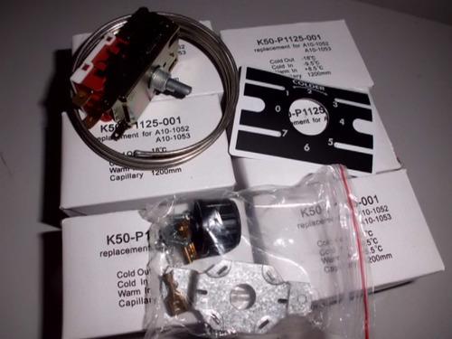 termostatos  k50-p1125 neveras vitrinas y exhibidores
