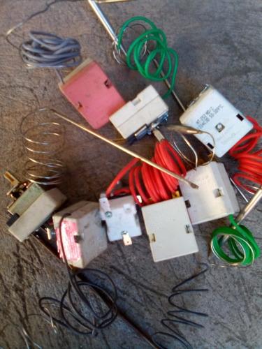 termostatos para plancha freidora freidora de papas y horno