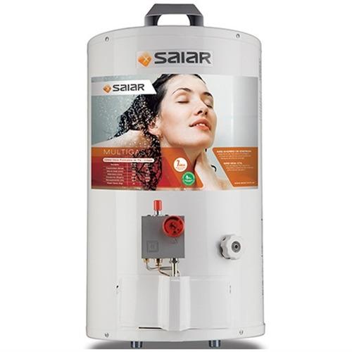 termotanque 30 litros saiar a gas de colgar carga inferior