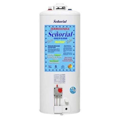 termotanque 85 litros carga superior señorial