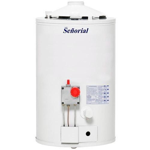termotanque a gas señorial 30 l zafiro ar multigas