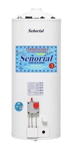termotanque a gas señorial 50 litros