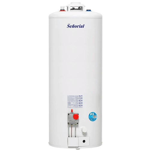 termotanque a gas señorial 85 l zafiro multigas