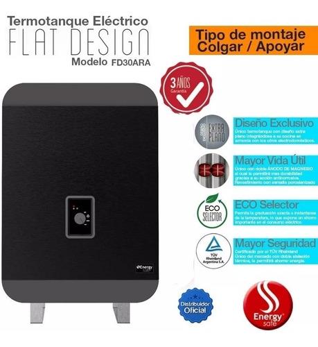 termotanque electrico 30l energy safe fd30ar 2000w eco