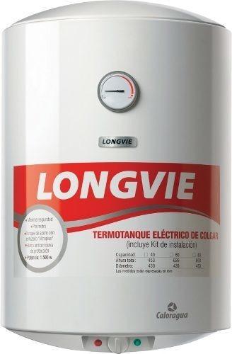 termotanque eléctrico 60lts longvie te60f blanco 2057 pr