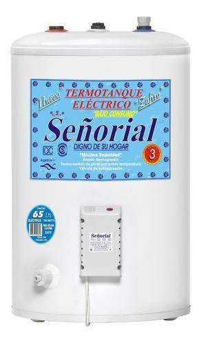 termotanque eléctrico 65 litros  superior señorial