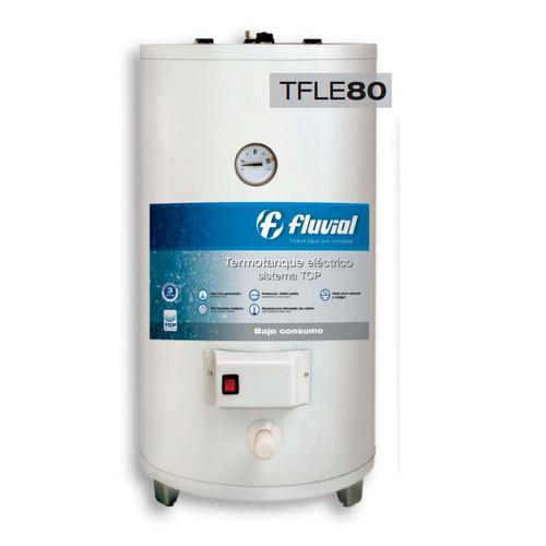 termotanque electrico fluvial tfle 80 lts colgar apoya tioso