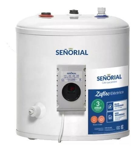 termotanque electrico señorial 40 lts - conexion superior