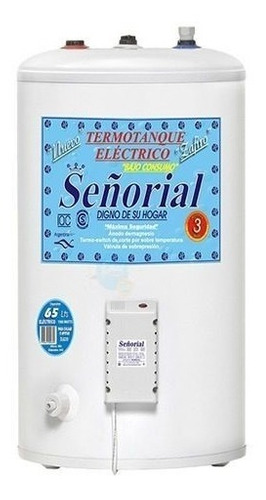 termotanque electrico señorial 65 litros superior selectogar