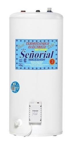 termotanque electrico señorial 95 litros superior selectogar